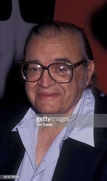 Mario Puzo attends the book party for Mario Puzo The Last Don on July 23 1996 at Barnes and Noble in New York City
