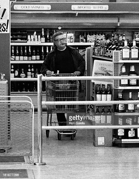 Mario Puzo sighted on February 4 1979 at a market in Malibu California