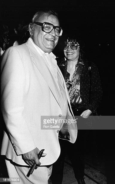 Mario Puzo sighted on October 16 1986 at Elaine's Restaurant in New York City