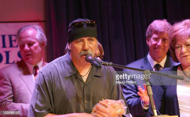 Mario Ramirez Ritchie's baby brother attends Richie Valens Day at The GRAMMY Museum on July 3 2009 in Los Angeles California