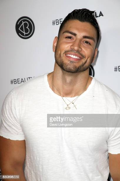 Mario Rodriguez attends Day 1 of the 5th Annual Beautycon Festival Los Angeles at the Los Angeles Convention Center on August 12 2017 in Los Angeles...