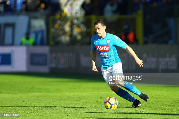Mario Rui of Ssc Napoli in action during the Serie A football match between Atalanta Bergamasca Calcio and Ssc Napoli. Ssc Napoli wins 1-0 over...