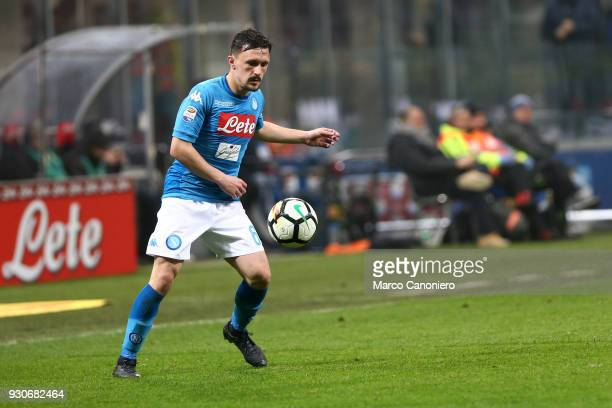 Mario Rui of Ssc Napoli in action during the Serie A football match between Fc Internazionale and Ssc Napoli The final score was 00