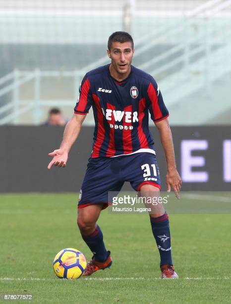 Mario Sampirisi of Crotone during the Serie A match between FC Crotone and Genoa CFC at Stadio Comunale Ezio Scida on November 19 2017 in Crotone...