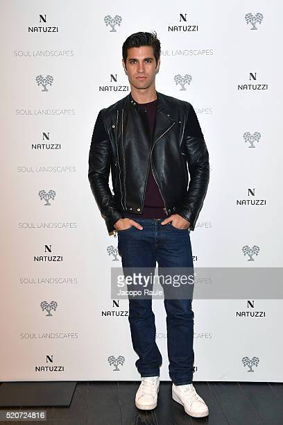 Mario Scalia attends Natuzzi Soul Landscapes on April 12, 2016 in Milan, Italy.