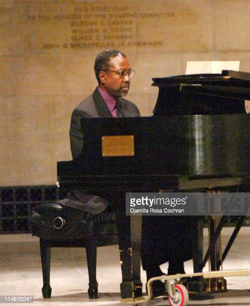 Mario Sprouse at Riverside Church during the funeral service for Photographer Gordon Parks on March 14 2006 in New York City