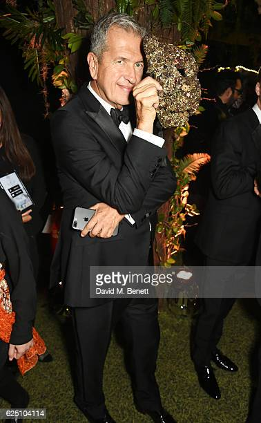 Mario Testino attends The Animal Ball 2016 presented by Elephant Family at Victoria House on November 22 2016 in London England