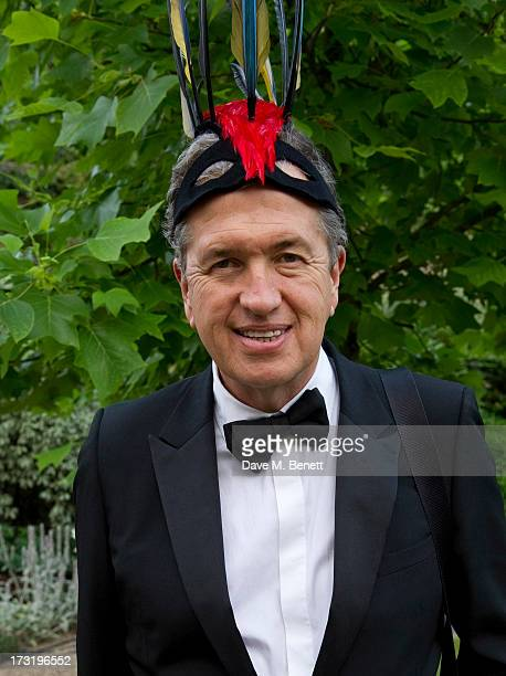 Mario Testino attends The Elephant Family presents 'The Animal Ball' at Lancaster House on July 9 2013 in London England