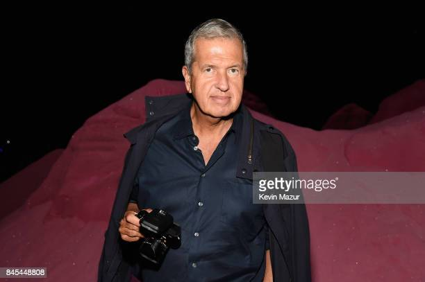 Mario Testino attends the FENTY PUMA by Rihanna Spring/Summer 2018 Collection at Park Avenue Armory on September 10 2017 in New York City