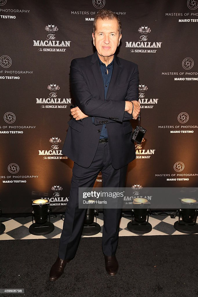 The Macallan Masters of Photography: Mario Testino Edition Launch Event