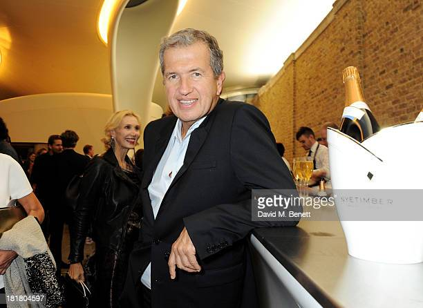 Mario Testino attends the VIP opening of the Serpentine Sackler Gallery and the launch of their autumn exhibitions on September 25 2013 in London...