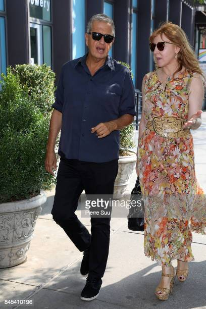 Mario Testino is spotted in Soho on September 10 2017 in New York City