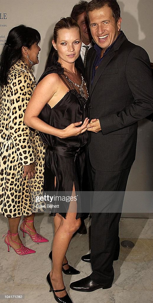 Mario Testino & Kate Moss, Opening Of The Manolo Blahnik Exhibition At The Design Museum, London