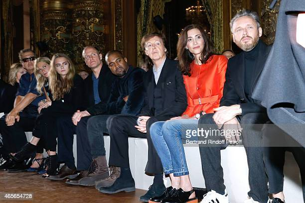 Mario Testino Poppy Delevingne Cara Delevingne Woody Harrelson Kanye West Paul McCartney his wife Nancy Shevell and Husband of Stella Alasdhair...