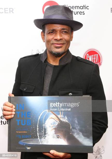 Mario Van Peebles attends the TJ Scott Book Launch for 'In The Tub Volume 2' at Cinematic Pictures Group Gallery on December 2 2017 in Hollywood...