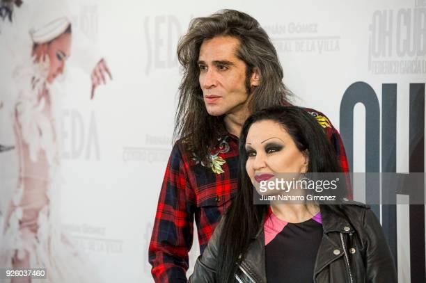 Mario Vaquerizo and Olvido Gara aka Alaska attend 'ÁOh Cuba' premiere at Fernan Gomez Theater on March 1 2018 in Madrid Spain