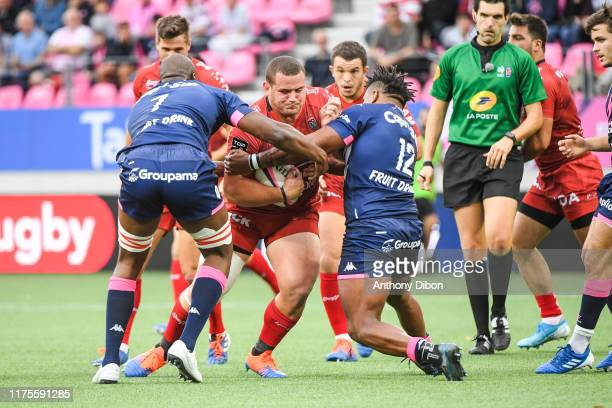 Mario Wilco LOUW of Toulon during the Top 14 match bewteen at Stade Jean Bouin on October 13 2019 in Paris France
