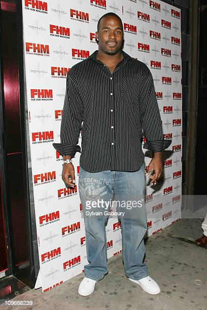 Mario Williams during FHM Party for the NFL Players Draft at Gypsy Tea in New York, NY, United States.