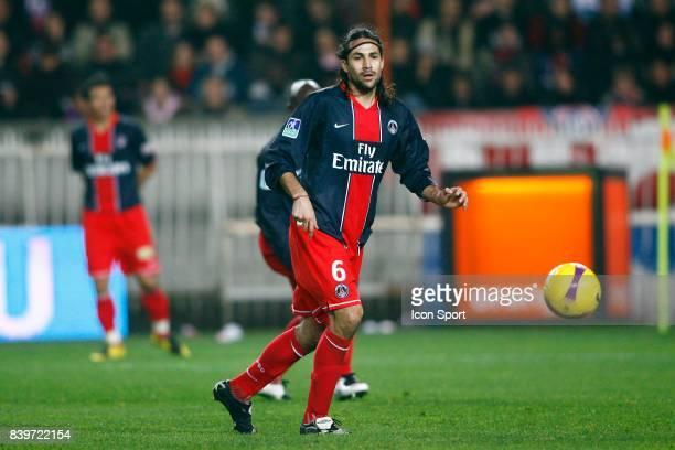 Mario YEPES PSG / Lyon 12eme journee de Ligue 1