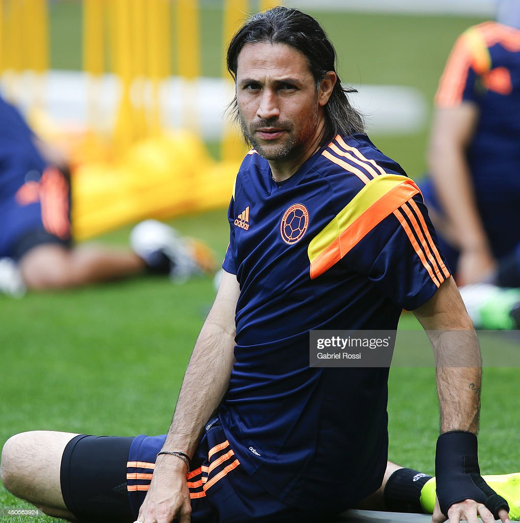 Colombia Training Session - 2014 FIFA World Cup Brazil