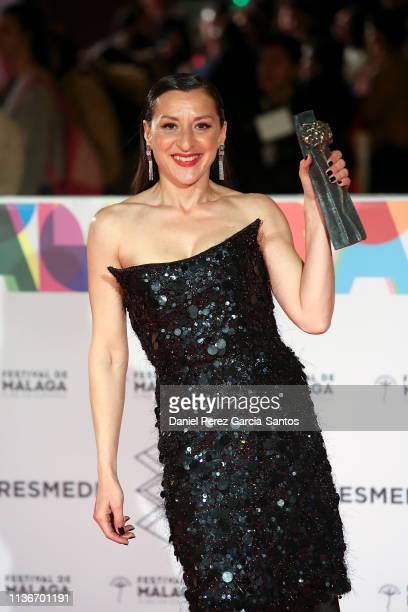 Mariola Fuentes attends 'Litus' premiere during the 22th Malaga Film Festival on March 18 2019 in Malaga Spain