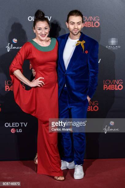 Mariola Fuentes attends 'Loving Pablo' Madrid Premiere on March 7 2018 in Madrid Spain