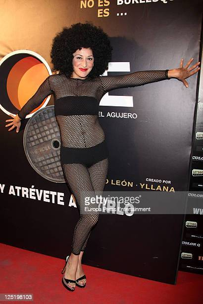 Mariola Fuentes attends 'The Hole' premiere at Haagen Dasz Theatre on September 15 2011 in Madrid Spain