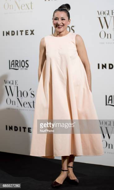 Mariola Fuentes attends VI Vogue Who's On Next party at El Principito on May 18 2017 in Madrid Spain