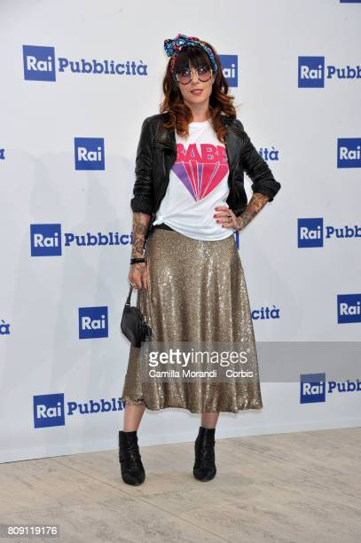Mariolina Simone attends the Rai Show Schedule Presentation In Rome on July 4 2017 in Rome Italy