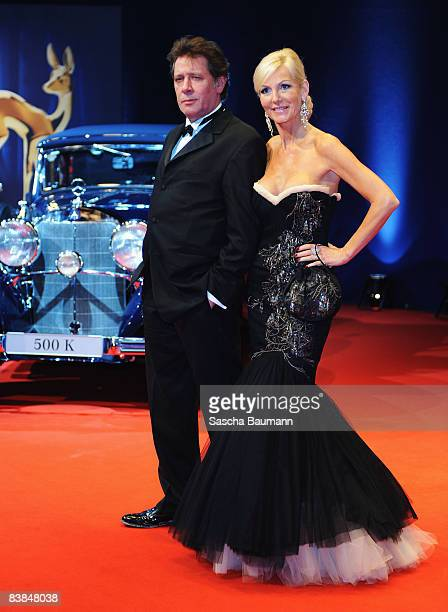 Marion and Jan Vedder arrive to the Bambi Awards 2008 on November 27 2008 in Offenburg Germany