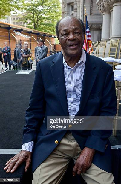 Marion Barry attends the Trump International Hotel Washington, D.C Groundbreaking Ceremony at Old Post Office on July 23, 2014 in Washington, DC.