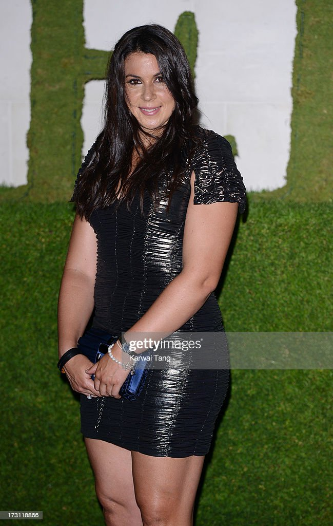 Marion Bartoli arrives for the Wimbledon Champions Dinner held at the InterContinental Park Lane Hotel on July 7, 2013 in London, England.