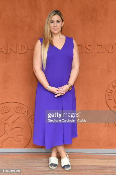 Marion Bartoli attends the 2019 French Tennis Open Day Five at Roland Garros on May 30 2019 in Paris France