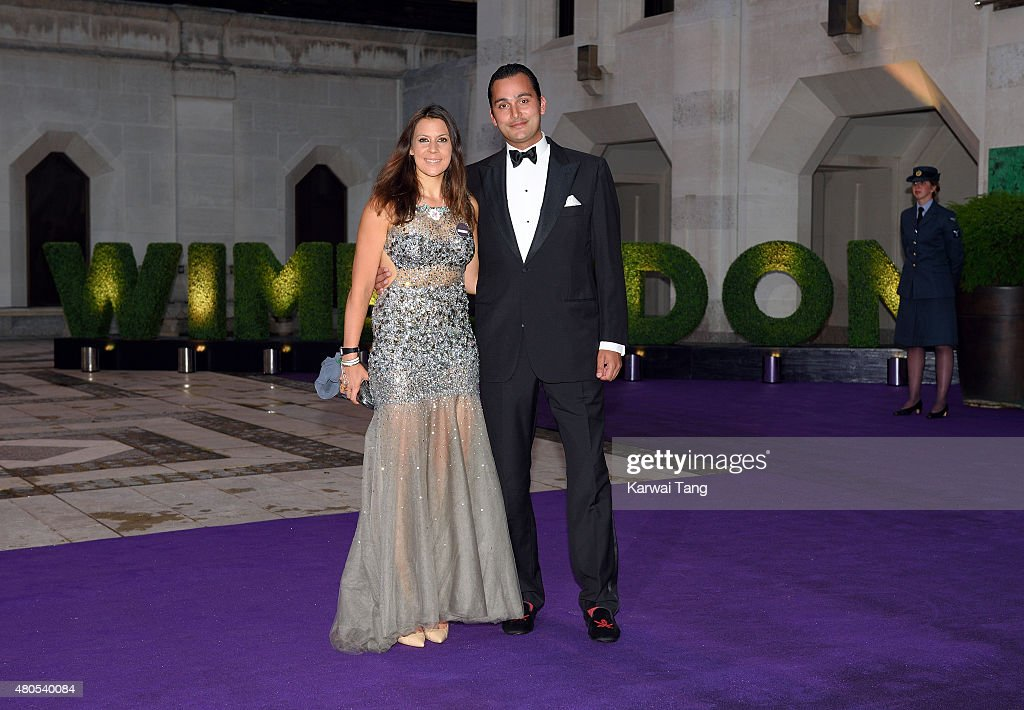 Marion Bartoli attends the Wimbledon Champions Dinner at The Guildhall on July 12, 2015 in London, England.