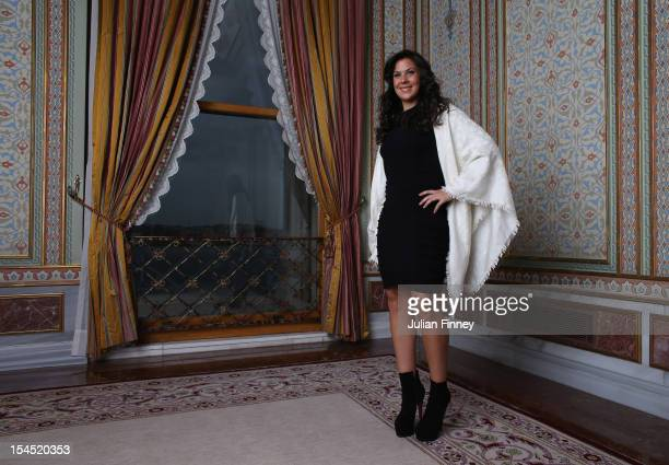 Marion Bartoli of France poses for a portrait during previews for the TEB BNP Paribas WTA Championships Istanbul on October 21 2012 in Istanbul Turkey
