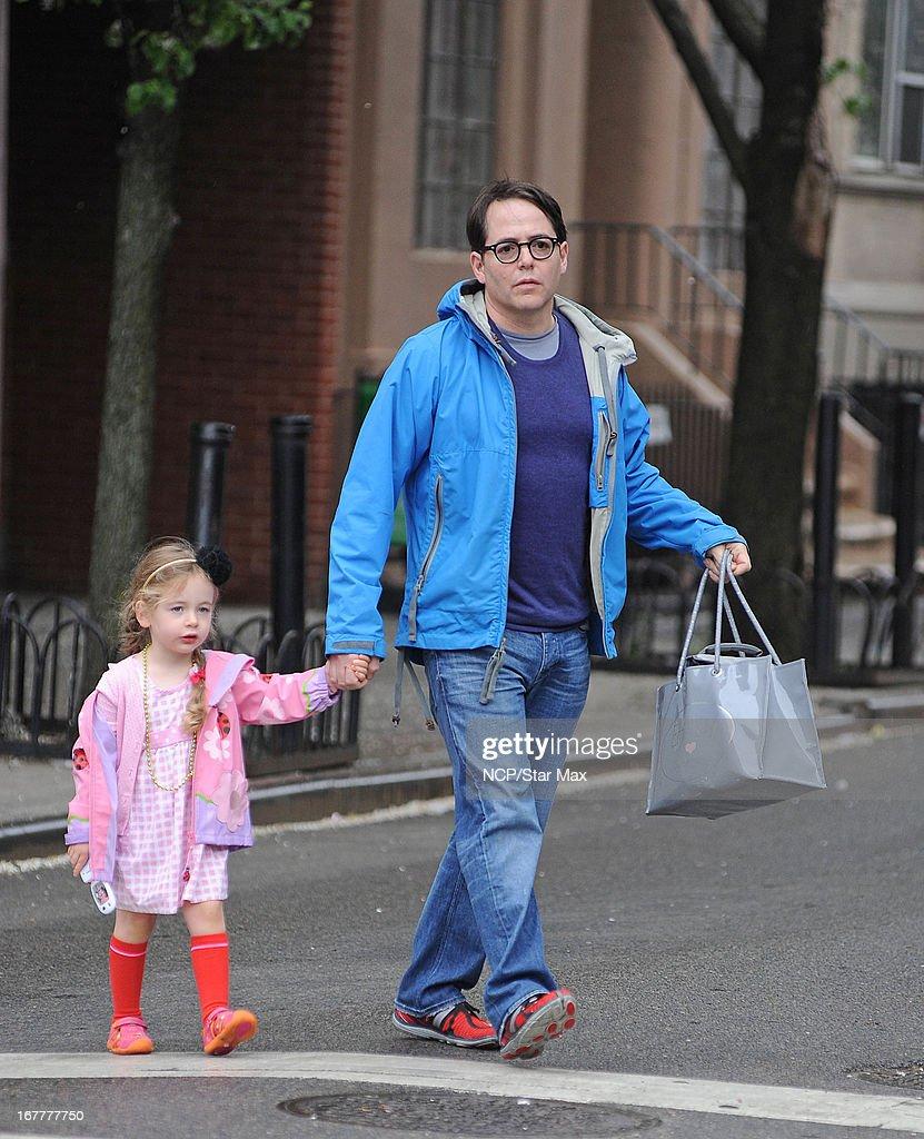 Celebrity Sightings In New York City - April 29, 2013