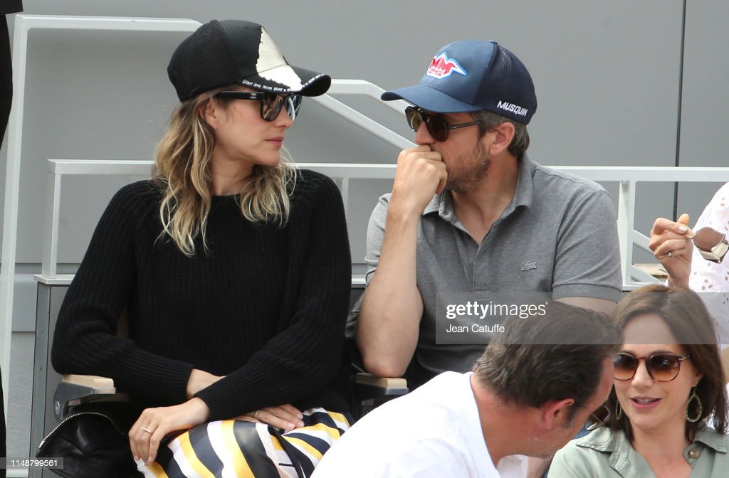 Marion Cotillard And Husband Guillaume Canet Attend The Men S