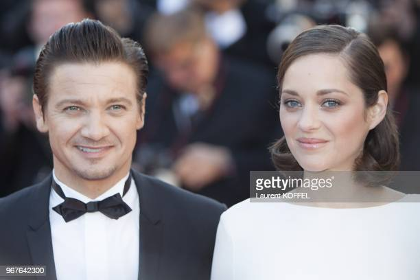 Marion Cotillard and Jeremy Renner attend 'The Immigrant' Premiere during the 66th Annual Cannes Film Festival at Palais des Festivals on May 24 2013...