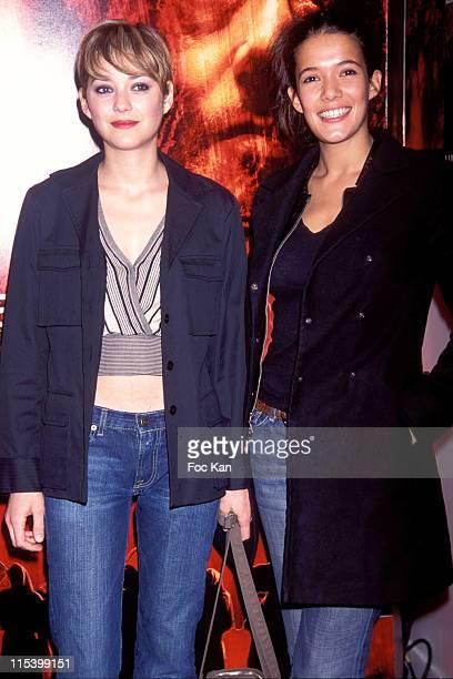Marion Cotillard and Melanie Doutey during 'Purple Rivers 2' Paris Premiere at Gaumont Marignan in Paris France
