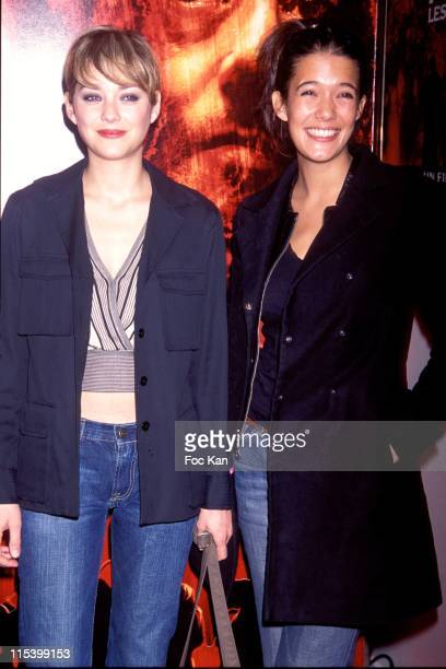 Marion Cotillard and Melanie Doutey during 'Purple Rivers 2' Paris Premiere at Gaumont Marignan in Paris France