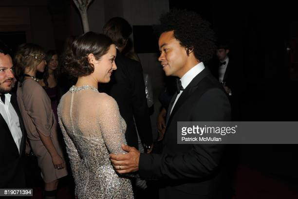 Marion Cotillard and Patrick Robinson attend THE METROPOLITAN MUSEUM OF ART'S Spring 2010 COSTUME INSTITUTE Benefit Gala at THE METROPOLITAN MUSEUM...