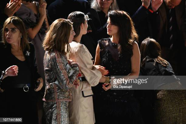 Marion Cotillard and Penelope Cruz attend Chanel Metiers D'Art 2018/19 Show at The Metropolitan Museum of Art on December 04 2018 in New York City
