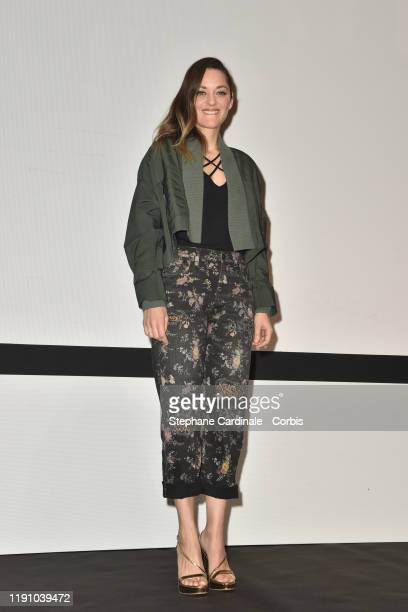 Marion Cotillard arrives for a In Conversation with Marion Cotillard during the 18th Marrakech International Film Festival Day Two on November 30...