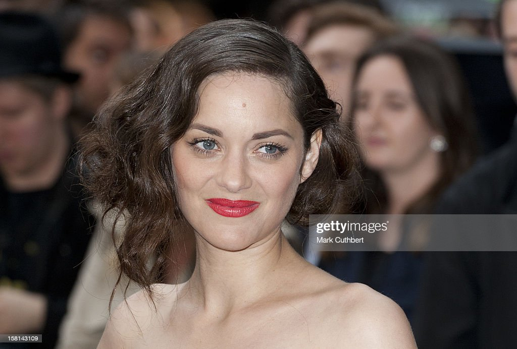 Marion Cotillard At The Premiere Of The New Batman Film The