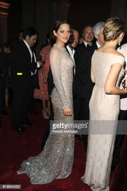 Marion Cotillard attend THE METROPOLITAN MUSEUM OF ART'S Spring 2010 COSTUME INSTITUTE Benefit Gala at THE METROPOLITAN MUSEUM OF ART on May 3rd 2010...