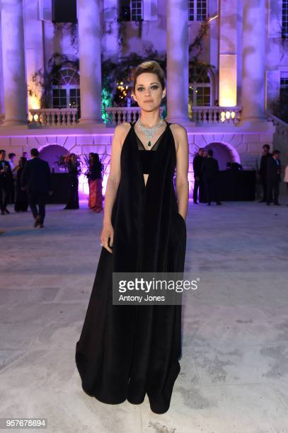 Marion Cotillard attends Chopard Secret Night during the 71st annual Cannes Film Festival at Chateau de la Croix des Gardes on May 11 2018 in Cannes...