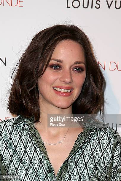 Marion Cotillard attends 'It's Only The End Of The World' Movie Afterparty at Club by Albane during the 69th Annual Cannes Film Festival on May 19...