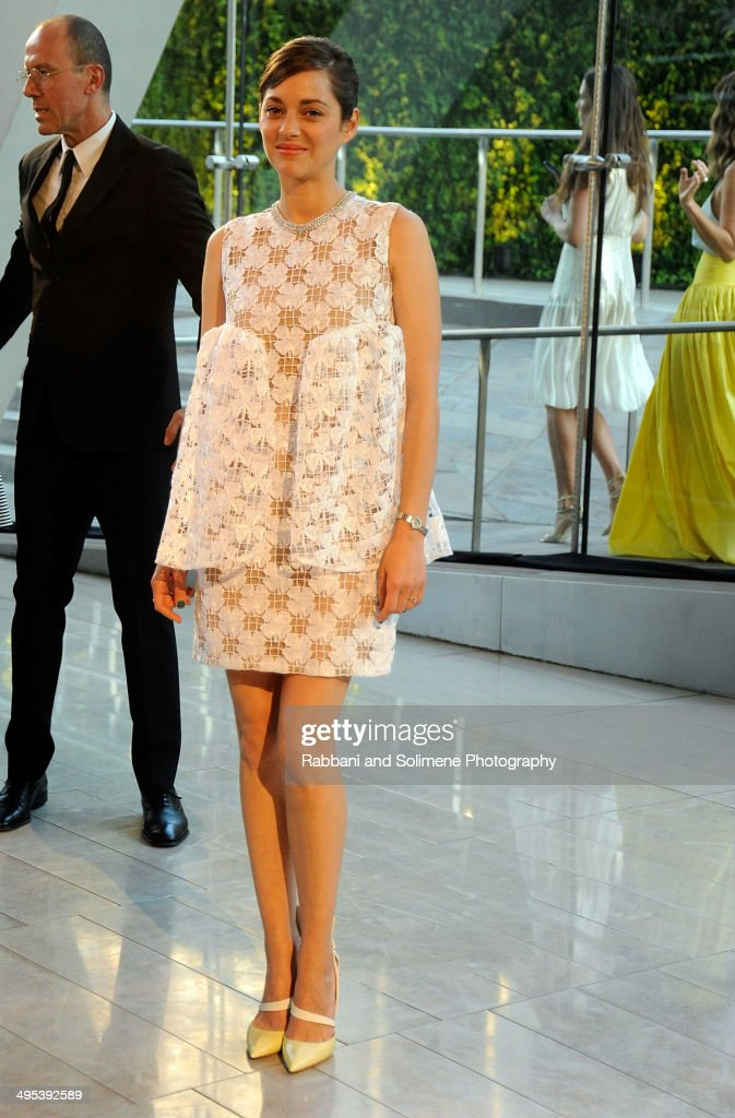 Marion Cotillard attends the 2014 CFDA fashion awards at Alice Tully Hall, Lincoln Center on June 2, 2014 in New York City.