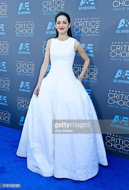 Marion Cotillard attends the 20th Annual Critics' Choice Movie Awards on January 15 2015 in Los Angeles California