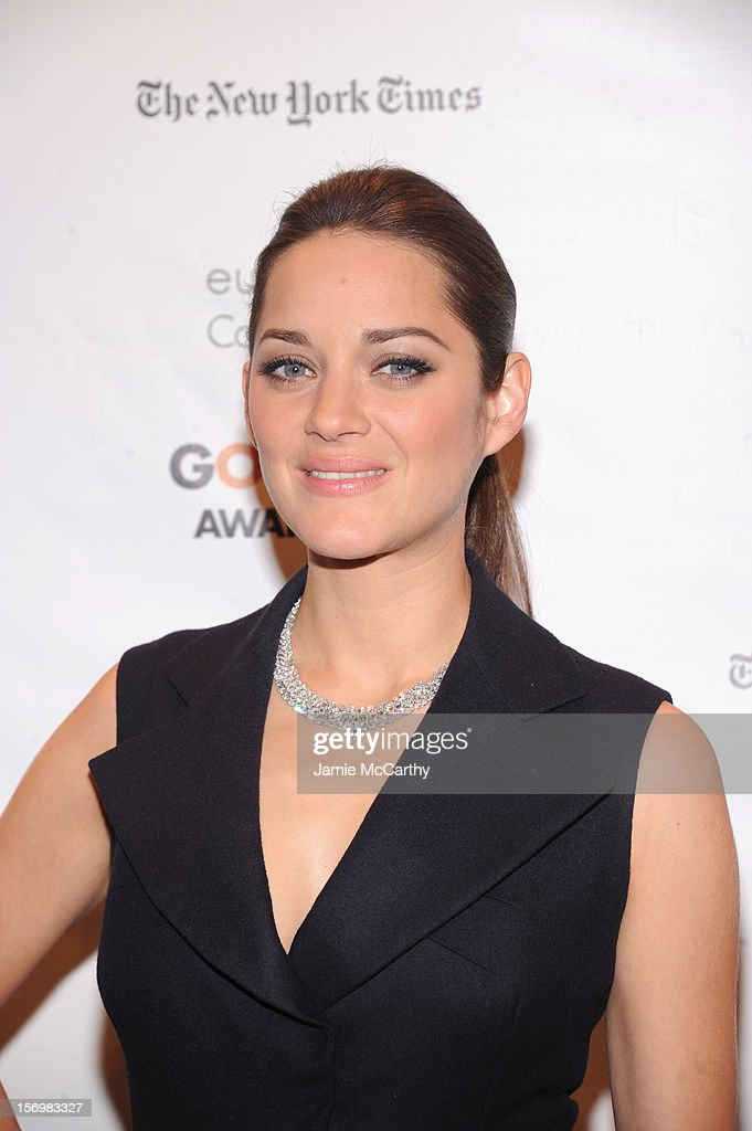 Marion Cotillard attends the 22nd Annual Gotham Independent Film Awards at Cipriani Wall Street on November 26, 2012 in New York City.